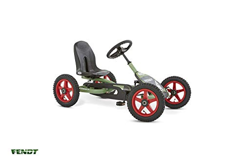 Berg Pedal Gokart Buddy Fendt | Kinderfahrzeug, Tretauto mit Optimale Sicherheid, Luftreifen und Freilauf, Kinderspielzeug geeignet für Kinder im Alter von 3-8 Jahren