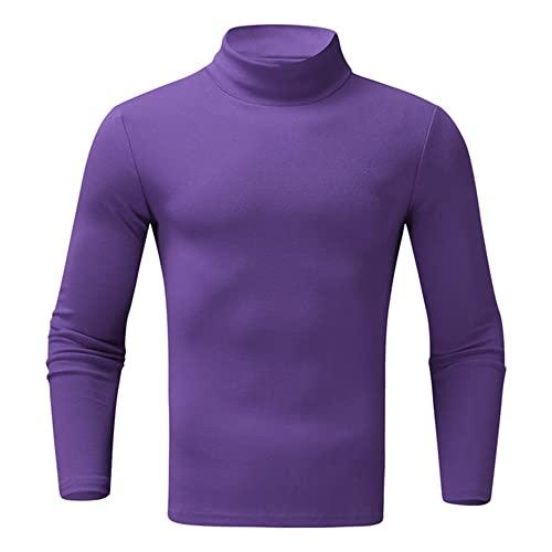 Camisas Delgadas Camisas de Manga Larga de Invierno para Hombre Camisas de Fondo