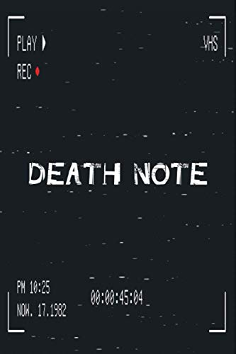 Death Note Notebook: Great Notebook for School or as a Diary, Lined With More than 112 Pages. Notebook that can serve as a Planner,Journal and ... and for Drawings. (Death Note Notebooks)