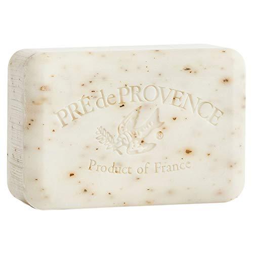 Pre de Provence Soap Shea Enriched Everyday 250 Gram Extra Large French Soap Bar - White Gardenia by Pre de Provence