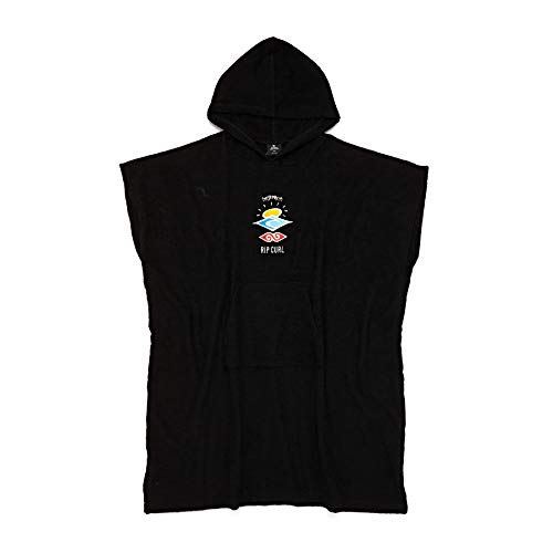 RIP CURL Wet AS Poncho 2021 Black