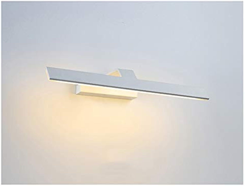 Moderne geführte Spiegel-Scheinwerfer, wasserdichte und Anti-Fog-Badezimmer-Spiegel-Kabinett beleuchtet nordische Badezimmer-Bild-Lichter (Farbe   Warmes Licht-44cm)