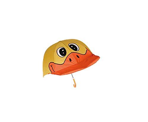 Regenschirm/Schirm/Kinderschirm/Kinderregenschirm/Kinder Regenschirm/Das lustige Design bringt auch bei schlechtem Wetter EIN Strahlen in Kindergesichter! (Ente)