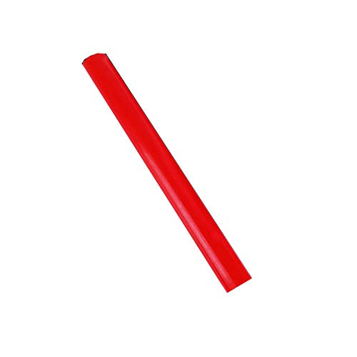 Barra elástica de poliuretano, barra redonda de poliuretano, Dichotomanthes Die Pad Mould sellado Junta Relleno Redonda Stick color rojo, OD 30mm, 1