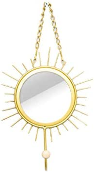 WZNING Creative Porch Deur wanddecoratie Slaapkamer wandkleden Glass Mirror Hanger Personality Hangende Size185725cm