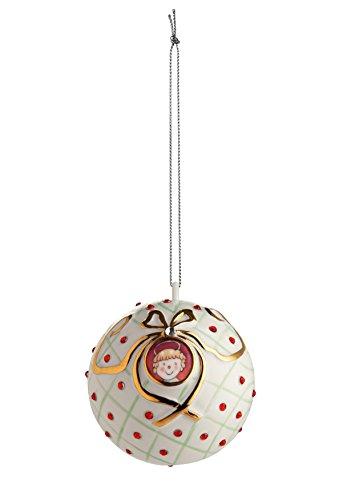 Alessi MJ16 6 San Bambino Dekokugel - Porzellan. Handdekoriert.