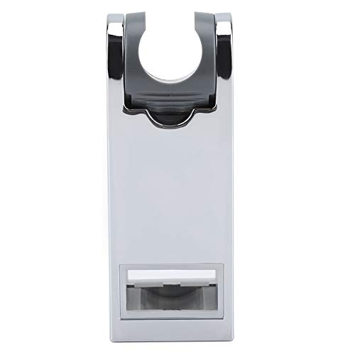 Barra deslizante para ducha de altura ajustable con barra de ABS y soporte para teléfono de baño