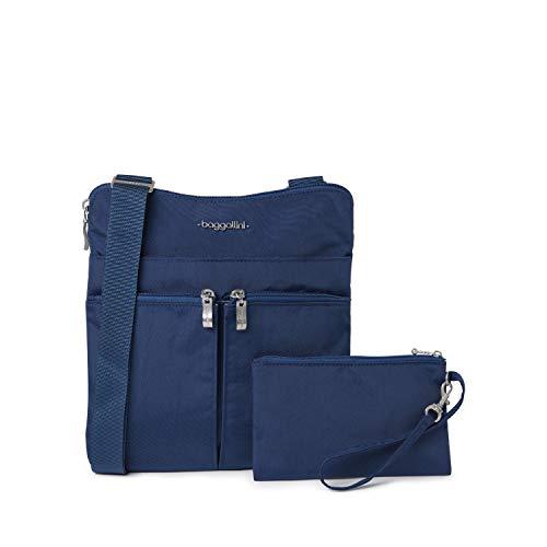 Baggallini womens Horizon Travel Crossbody cross body handbags, Pacific, One Size US