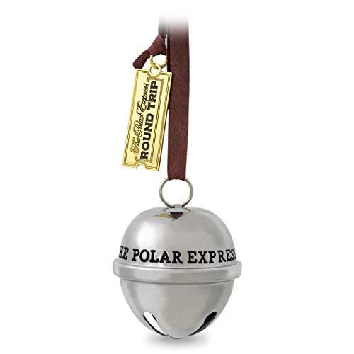Hallmark Keepsake Christmas Ornaments 2019 Year Dated, The Polar Express Santa's Sleigh Bell Ornament, Metal