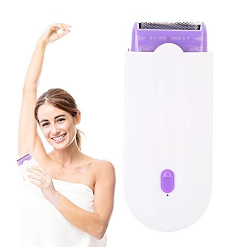Depiladora Mujer Eléctrica, Depiladora eléctrica para mujer para una depilación duradera, Maquinilla de afeitar eléctrica, Poderoso Removedor de Callosidades y Muertas Piel(Euro)