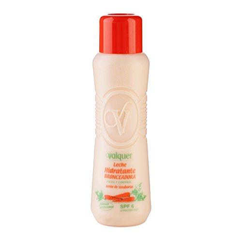 Válquer Leche Hidratante Bronceadora (SPF 6) - 500 ml.