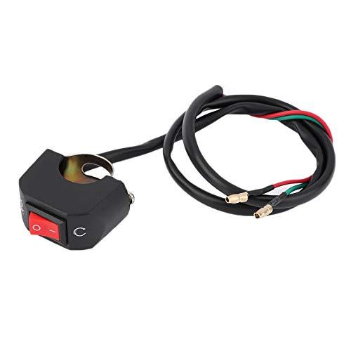 Interruptor universal de la motocicleta del manillar, interruptor de botón de encendido y apagado para U5 U7 U2, faro LED, interruptor de luz de ojos de Ángel, interruptor de foco
