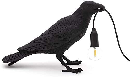 Lámpara De Pared De Aves De Luz Creativa Lámpara De Pared LED Moderna Dormitorio De La Pared Lámpara De Pared Cuervo Pájaro Lámpara De Pie Decoración del Hogar