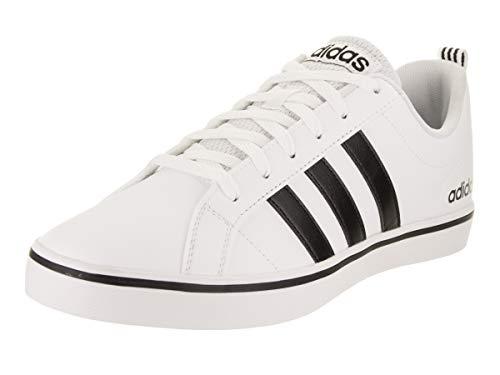 adidas mens Pace Vs Sneaker, White/Black/Blue, 10.5 US