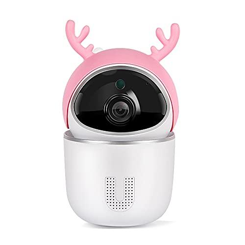 CHENPENG Cámara de Seguridad WiFi 1080P, cámara de videovigilancia en Red inalámbrica, con aplicación de teléfono Celular y Sonido, Audio bidireccional, Seguimiento de Movimiento,B