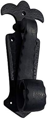 Adonai Hardware Leummim Antique Iron Door Knocker (Black Powder Coated)