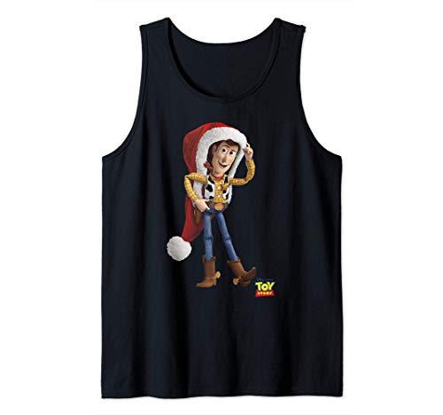 Disney Pixar Toy Story Woody Over Sized Santa Hat Camiseta sin Mangas