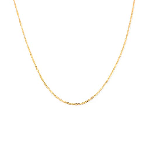 Catena Singapore - oro giallo 18k (750)