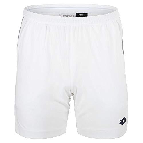 Lotto Herren, Squadra PL 7in Shorts Weiß, Dunkelblau, XL Oberbekleidung