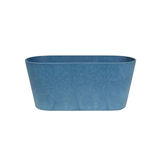 Artstone Blumenkasten Claire L38cm blau