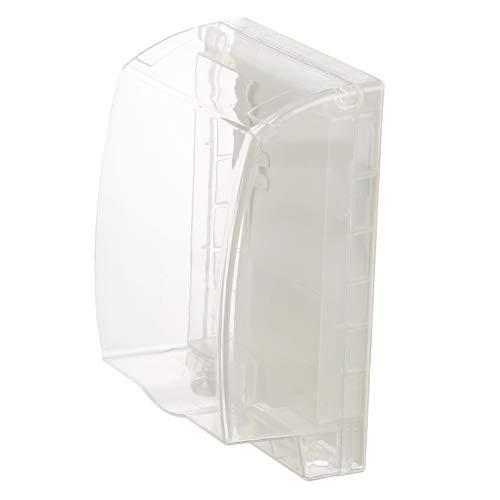 Baluue Cubierta de Pulg de Interruptor a Prueba de Agua Caja de Protector de Enchufe de Tipo 86 para Interior Exterior Caja de Protección de Placa de Banda de Salida de Interruptor