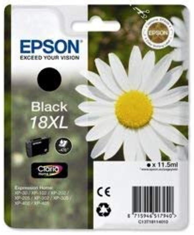 2 x Inkjet Cartridge Daisy High Capacity Black
