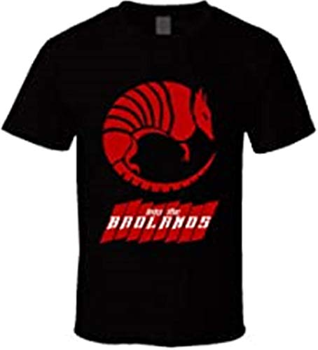 T-shirt Red Armadillo Into The Badlands Quinn Ryder Insignia, Noir , XL
