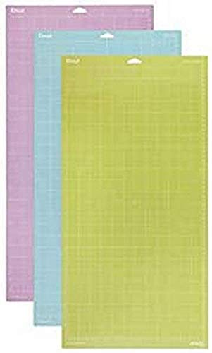 Cricut variedad alfombrilla de corte, multicolor, 30.5 x 60.9 cm, pack de 3