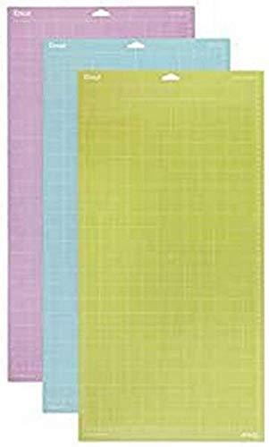 Cricut Vielzahl Schneidematte, mehrfarbig, 30.5 x 60.9 cm ,3 Stück