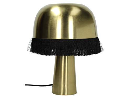 Engelnburg Lámpara de escritorio de alta calidad, metal dorado, 25 x 25 x 33 cm