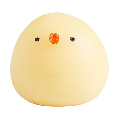 Cute Mini Animal Seals Healing Toys Slow Rising Squishy Stress Relief Toy for Kids Adults (Chicken)