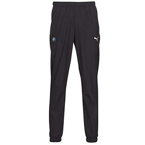 PUMA BMW MMS Woven Pants Jogging & Sportbekleidung Herren Schwarz - L - Jogginghosen