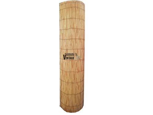 Restauraciones Vintage Rollo de Bambú ocultación Beach 0,90 x 10 Metros