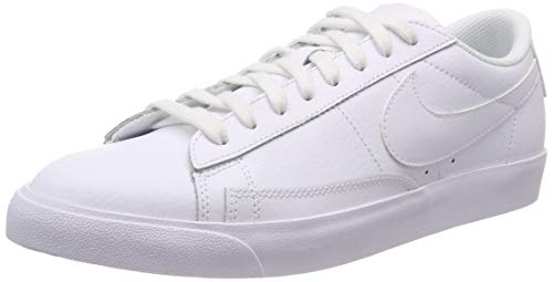 Nike Blazer Low Le, Zapatos de Baloncesto Hombre, Blanco (White/White/White 100), 45 EU