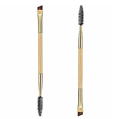 Xiton Newin Étoiles 1PCS Maquillage Bambou Poignée Double Brosse à Sourcils + Peigne Sourcils