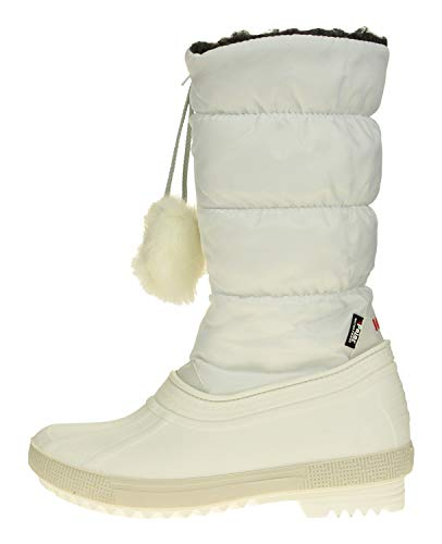 Price comparison product image PAJAR Girl's Kid and Toddler Fay Winter Boot,  White,  12 US Toddler / Little Kid