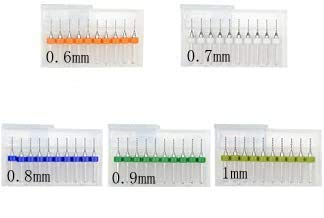 TOVOT 50 PCS PCB Print Circuit Board Tip Spiral Flute Carbide Micro Drill Bits 0.6 mm-1.0 mm for Jewelry CNC Engraving