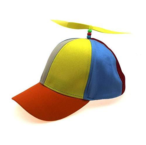 QOHNK Sombrero De Béisbol De Hélice Padres E Hijos Sombrero para El Sol Al Aire Libre con Viseras