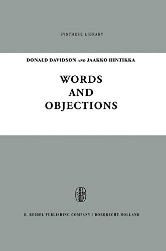 Words and Objections: Essays on the Work of W.V. Quine (Synthese Library Book 21)