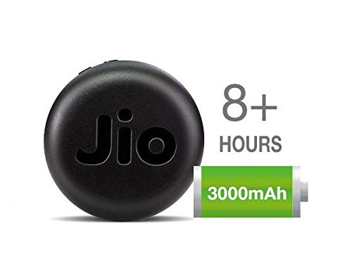 JioFi JMR1040 150Mbps Wireless 4G Portable Data Card (Black)