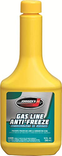 Johnsen's 2952-12PK Gas Line Anti-Freeze - 12 oz., (Pack of 12)