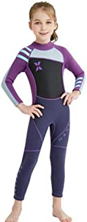Girl Children's Diving Suit Siamese Female Wetsuit Warm Snorkeling Surfing Jellyfish Clothing 2.5MM