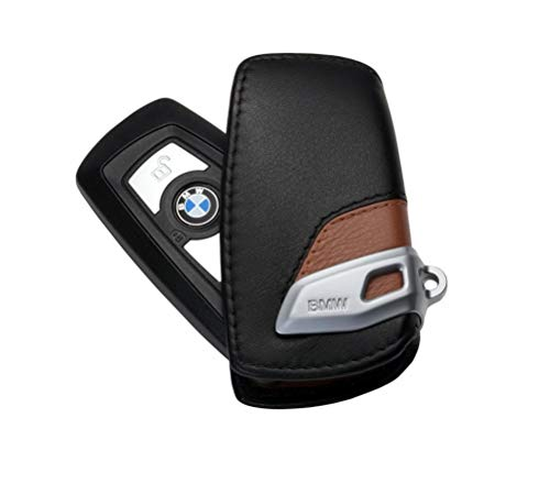 BMW Original Schlüsseletui Luxury-Line schwarz/braun