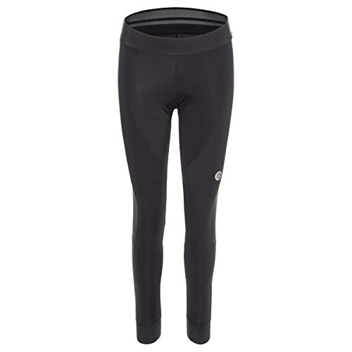 AGU Lange Fietsbroek met Zeem Essential Dames Windproof - Zwart - XL