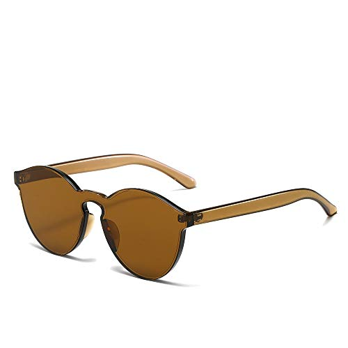 YIWU El Gafas De Sol Venta Al por Mayor Europa Y America Tendencia Gafas De Sol Colores Dulces Gafas De Dama (Color : 4)