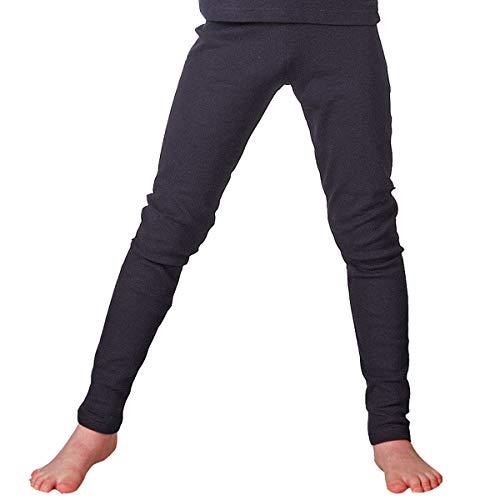 HERMKO 2720 Kinder Legging Unisex aus 100% Bio-Baumwolle für Mädchen und Knaben, Farbe:Marine, Größe:98
