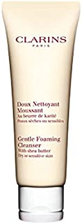 Clarins Gentle Foaming Cleanser with Shea Butter for Dry/Sensitive Skin 125 ml