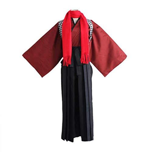 Trajes de Disfraz de Cosplay Touken Ranbu para Hombre para exhibicin de Fiesta de Anime Halloween, Traje de Trabajo Kashuu Kiyomitsu