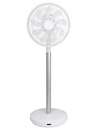 【Amazon.co.jp 限定】 [山善] 扇風機 アレクサ(ALEXA)対応 30cm リビング扇 (換気 / 空気循環) 静電式タッチスイッチ 風量8段階調節 室温センサー DCモーター搭載 リモコン付き ホワイト AHX-ALD30(W) [メーカー保証1年]