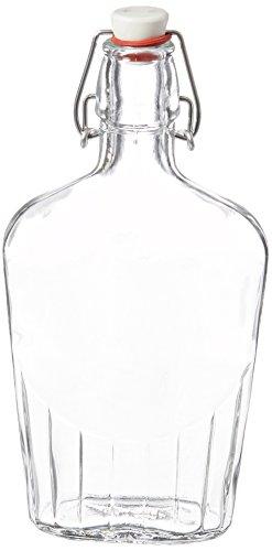 Bormioli Rocco Pocket Flask, 17 oz, Clear by Bormioli Rocco